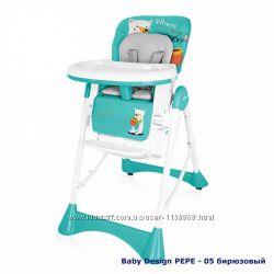 многофункциональный стульчик для кормления  Baby Design PEPE