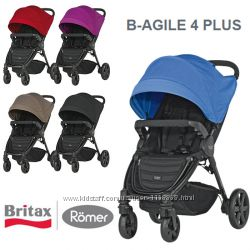 Прогулочная коляска Britax B-AGILE 4 PLUS