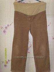 штаны на зиму для беременных 100 хлопок
