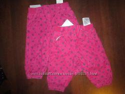 вильветовые штаны на подкладе Lupilu 0-4мес