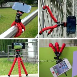 Гибкий штатив для мобильного и цифро-камеры