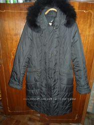 Женское пальто на синтапоне. Большой размер