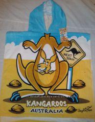 халат-накидка  после купания Австралийский дизайн