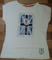 Футболкa спортивные Marks&Spenser Team GB. Лондон 2012. 9-10лет