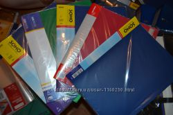 Папка скоросшиватель, пластиковая на резинке, папка-сегрегатор недорого