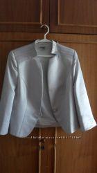 Нарядный укороченный пиджак