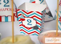 Морской. Декор Candy Bar
