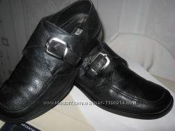 р40. Туфли мужские кожаные Италия, привезены моряком