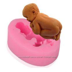 Молд силиконовый Спящий младенец