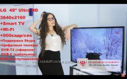 LG 49 Ultra HD 3840x2160 Smart TV Wi-Fi