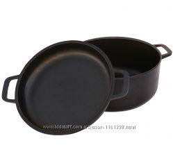 Кастрюля с крышкой-сковородой 3л. ТМ Биол - артикул К302П