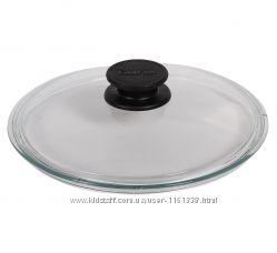 Стеклянная крышка низкая от 18 см до 32 см ТМ БИОЛ