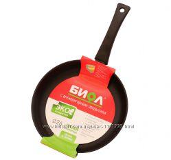 Сковорода 18 см Оптима с антипригарным покрытием ТМ БИОЛ - артикул 1804П