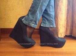 ботинки темно синий 38р
