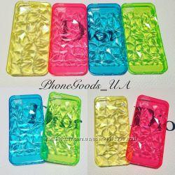 Яркий, красивый, силиконовый чехол на IPhone5, 5S