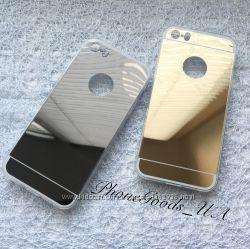 Зеркальный чехол на IPhone5, 5S