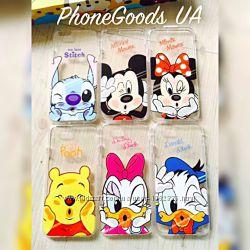 Силиконовый чехол Disney на IPhone6, 6S, 5, 5S,