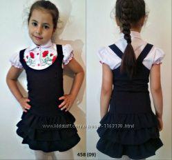 Сарафани, платья в школу