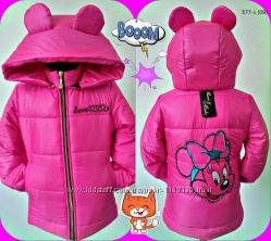 Куртка Микки детская демисезонная 116-134р Много расцветок
