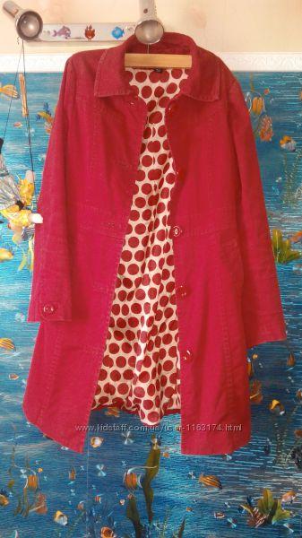 Красное легкое пальто рSM