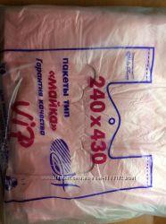 Пакет-майка 200 штук средний размер