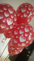 День Святого Валентина. Гелиевые шары. Вышгород.