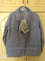 Новая серая куртка и шарфик Pierre Balmаin разные размеры