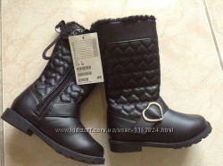 Новые зимние сапоги H&M 24 р-ра 15 см