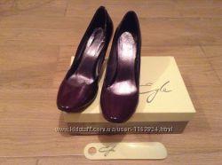Цена снижена - Кожаные шикарные туфли омбре Egle 36 р-ра отличное состояние