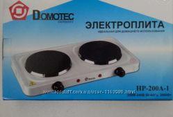 Электроплита двухкомфорная дисковая Domotec HP-200A