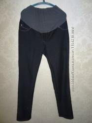 Зимние штаны-джинсы для беременной р. 52