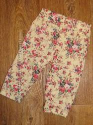 Легкие штаники Gloria Jeans для девочки, 6 мес. , сост. идеал.