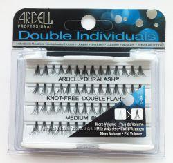 Накладные безузелковые и узелковые, пучковые ресницы ARDELL