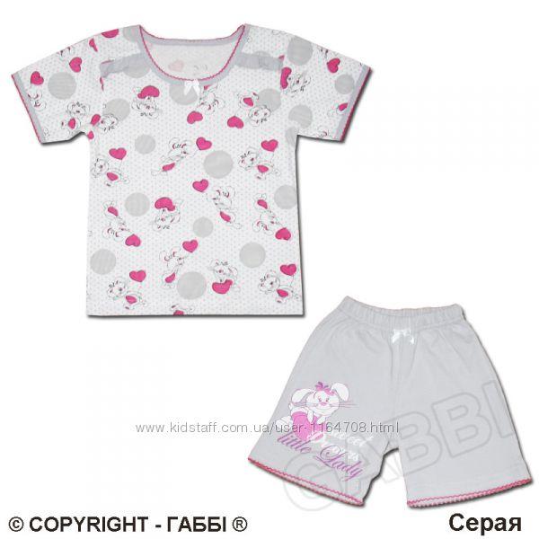 Летняя пижама для девочек р.110. Отменное качество-доступно.