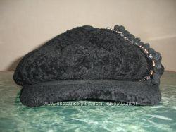 Зимняя кепка натуральная 53 - 56 см объем