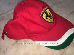 Бейсболка Ferrari junior, 7-9 лет.