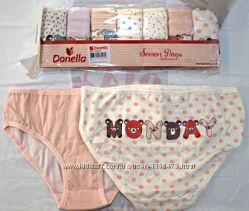 шикарные наборы трусиков неделек для девочек от Donella