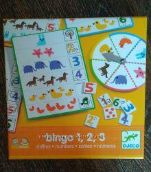 Игра Djeco bingo 1, 2, 3