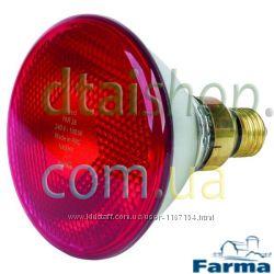 Лампа для обогрева PAR Farma 100 Вт Польша