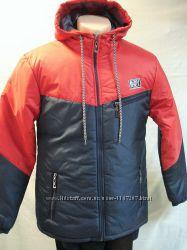 Куртка мужская демисезонная с капюшоном  молодёжная  BOY  48, 52,54