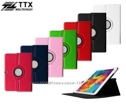 Кожаный чехол-книжка TTX 360 градусов для Samsung Galaxy Tab 4 10. 1