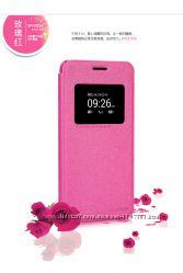 Кожаный чехол книжка Nillkin Sparkle Series для Asus Zenfone 5 A501CG