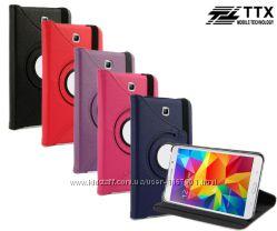 Кожаный чехол-книжка TTX 360 градусов для Samsung Galaxy Tab 4 7. 0