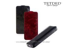 Кожаный чехол флип TETDED Lava Series для Apple iPhone 6 4. 7