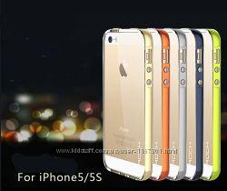 Светящийся TPU чехол ROCK Tube Series для Apple iPhone 55S
