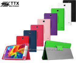 Кожаный чехол-книжка TTX c функцией подставки для Samsung Galaxy Tab 4 7. 0