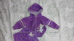 Велюровий костюм для дівчинки 68-80р.
