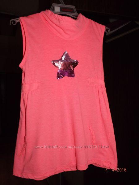 Продам футболку фирмы Zara на девочку рост 122 см.