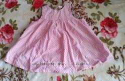 Вельветовый сарафанчик для девочки