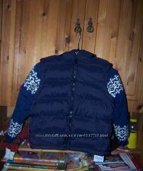 куртка на мальчика 122 см